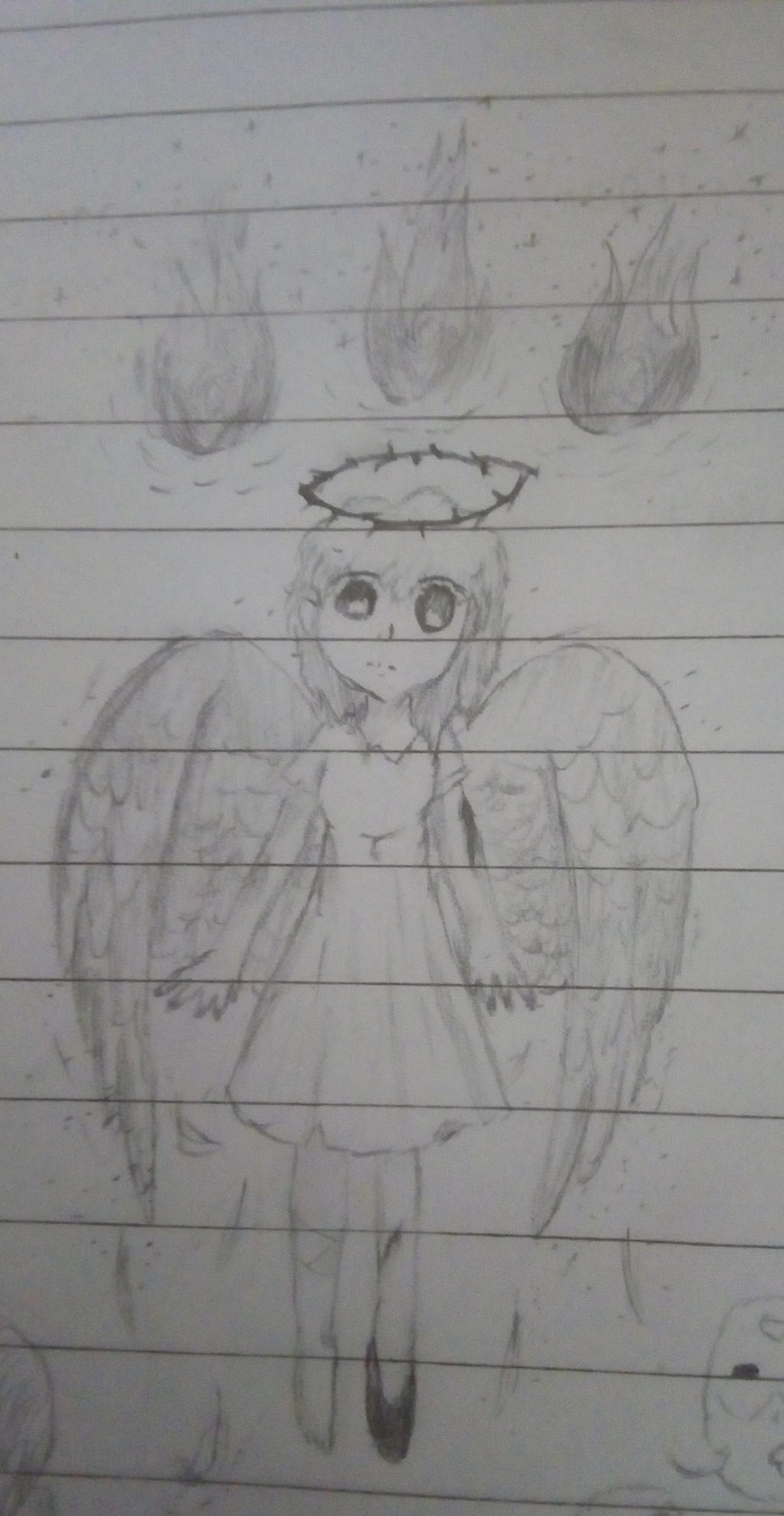 Darkie Angel by CrystalSailorMoon