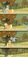 Appledash Comic 2:Rainbow Apples,the future!