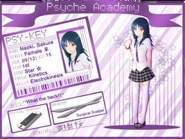 Psyche-Academy :: Sakura Naoki by XBakaNinGyoX
