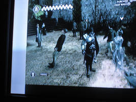 Assassins Creed 2 Glitch 3 Leaning Human of Italia