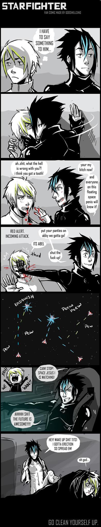 starfighter by GodsHellSing