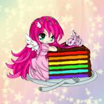 Rainbow Cake :D