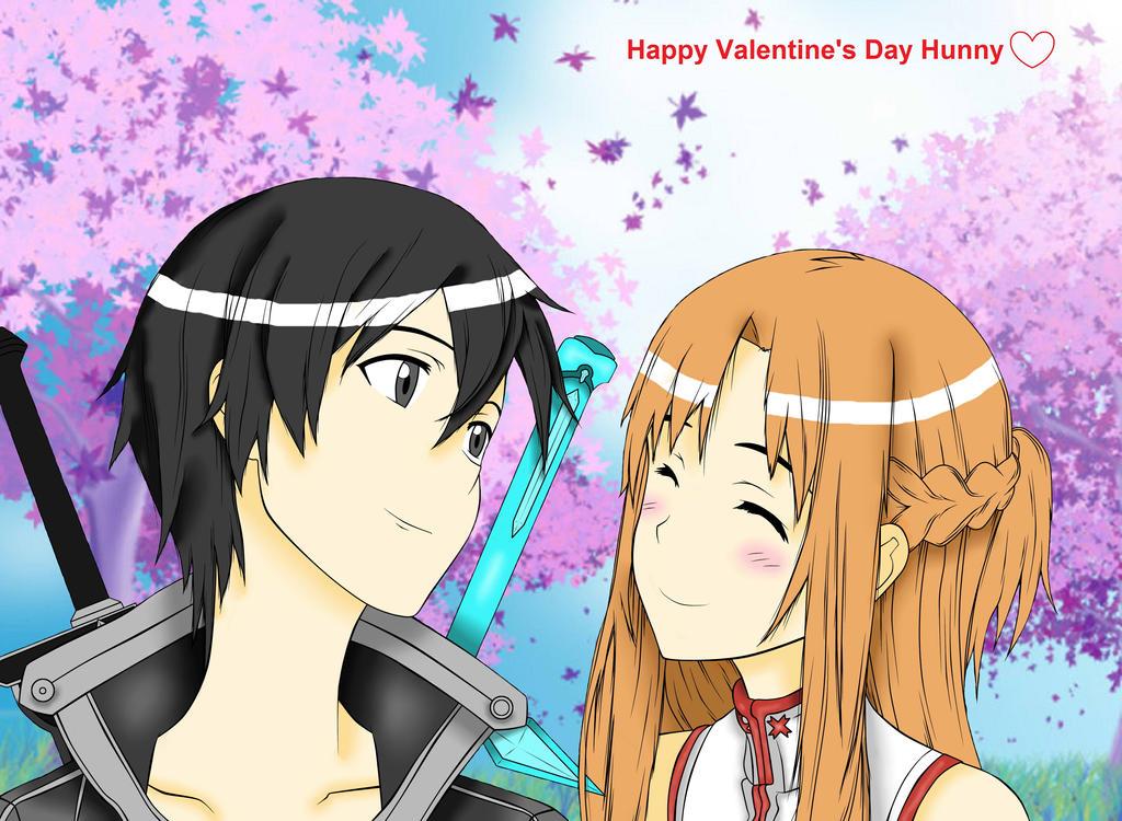 Kirito and Asuna :3 by NLmeisje