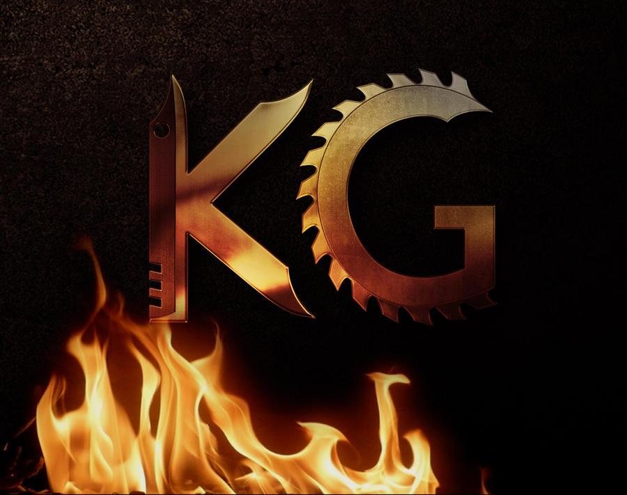 KnifeGrinder Logo Forge by klausNex