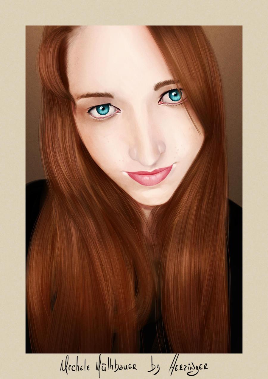 Michele Mulhbauer Portrait by klausNex