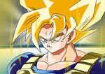 Super Goku - Coloured