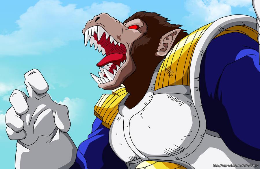 Vegeta Ozaru - Coloured by Ezio-anime on DeviantArt