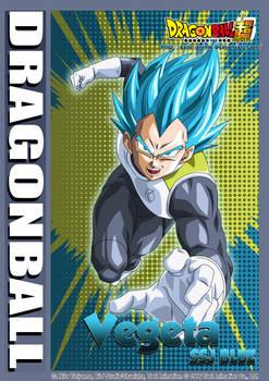 Dragon Ball (Nuevo Modelo de Card) - Vegeta SSJB