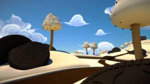 Candyland - Scenery render test 03