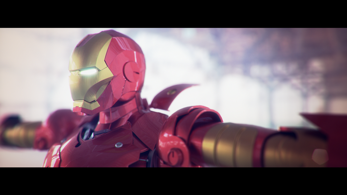 Ironman T-Pose by artmanphil