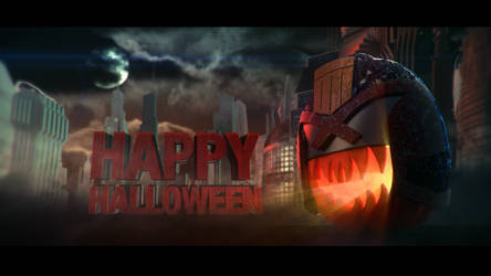 Happy Dreddoween from Megacity One
