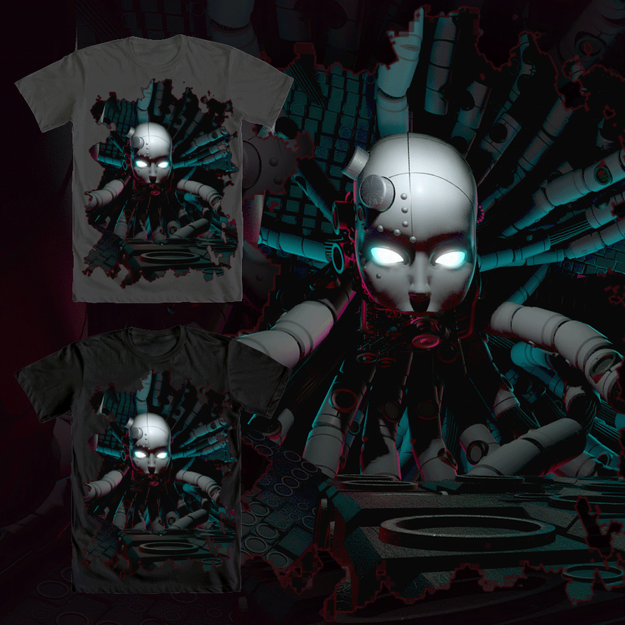 Axiom Verge - Elsenova T-SHIRT submission by artmanphil