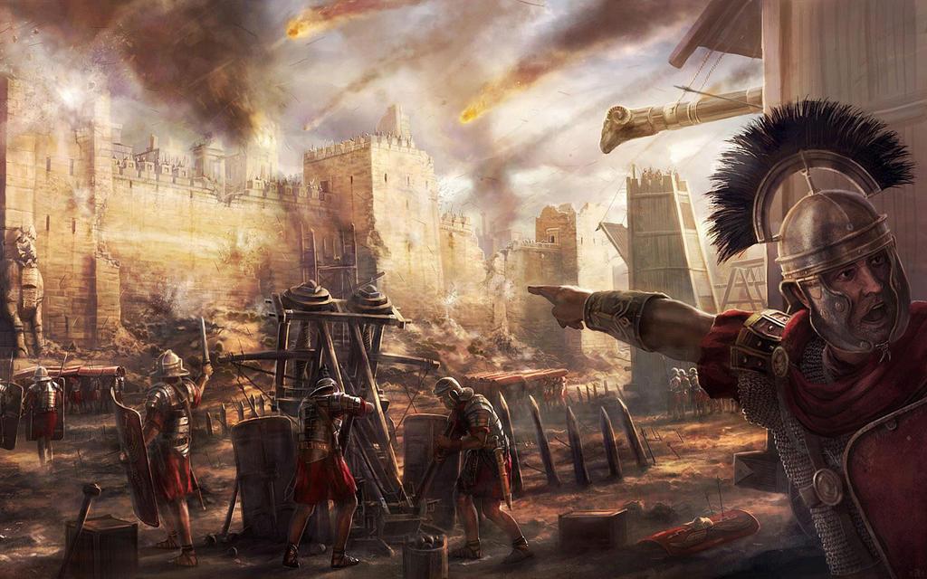 Rome Total War Wallpaper: Rome II Wallpaper By Jigsawss On DeviantArt