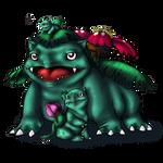 Bulbasaur and evos