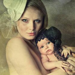 Rodzicielka i Dzeryjek by ArsVisionis