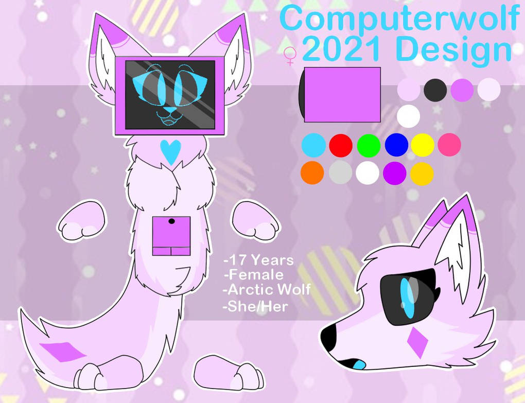 Computerwolf 2021 Design Ref Sheet