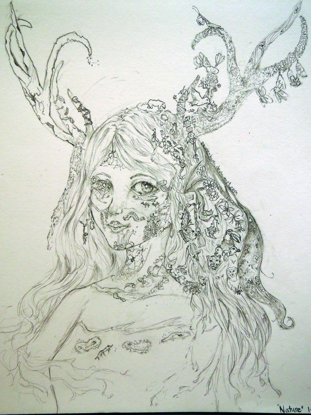 Nature ver. 2 - Closeup by miiandering