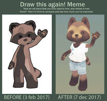 Improvement Challence by Fawngoo