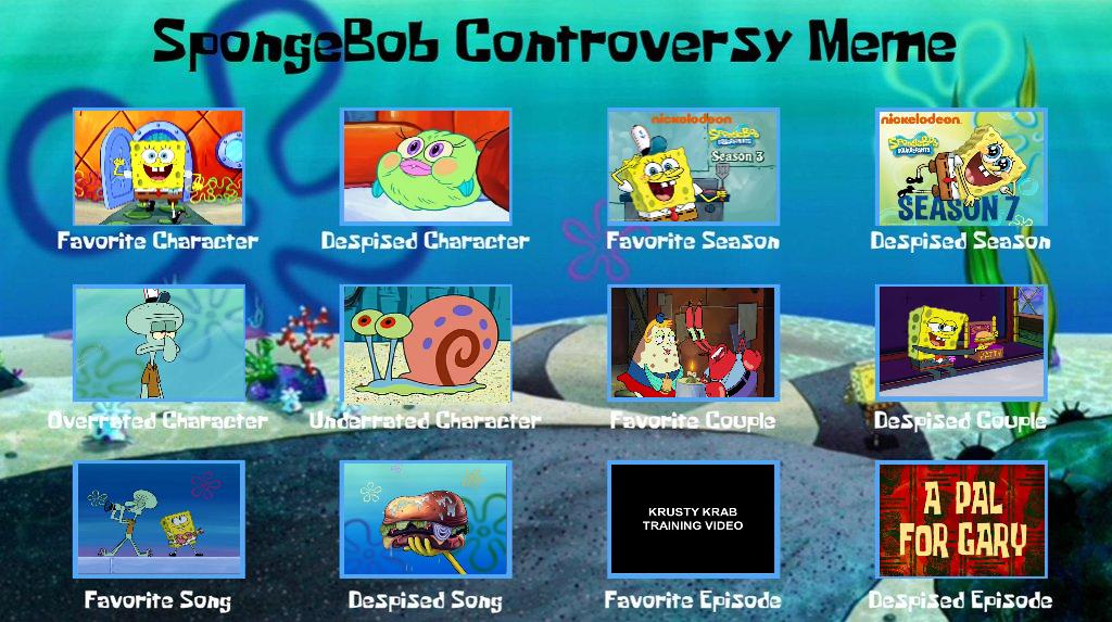 Spongebob Controversy Meme By Thethomasshyguykirby On Deviantart