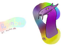 Iscribble doodle by AkumaAgma