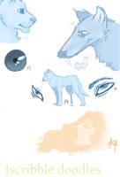 Iscribble doodles 2 by AkumaAgma