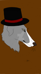 .:Just borzoi in a hat:.