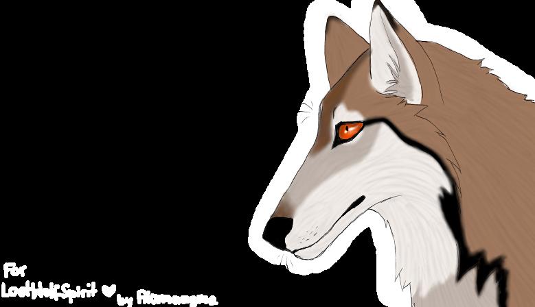 .:Lostwolfspirit gift:. by AkumaAgma