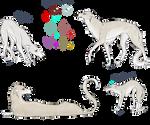 Akuma doodles by AkumaAgma
