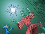 Punk Sorcerer by SugaryAshes