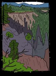 Spikey Rocks by SugaryAshes