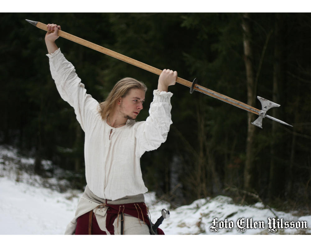 15th Century men at arm by Skane-Smeden