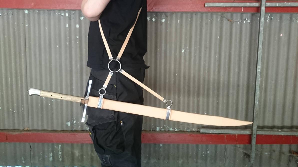Sword/Messer Scabbard By Skane-Smeden On DeviantArt