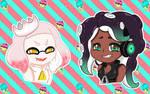 Splatoon2 - Pearl and Marina