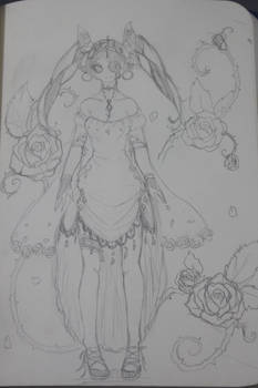 Poison rose queen_Mary Rose the sorcerer