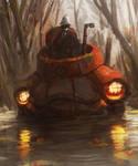 BIGUB a la grenouille noir