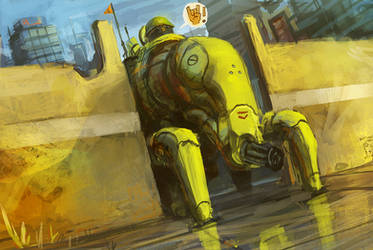 SPEED_sgt.Billy by Orkimede