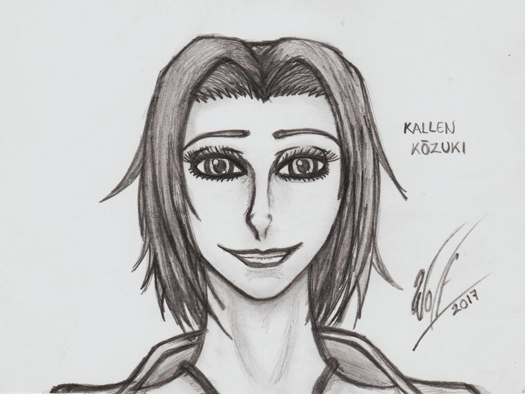 Face Practice 31: Kallen Kouzuki by WOLF777MX