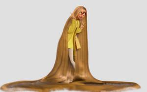 Honey Lemon with longer hair by MArt86