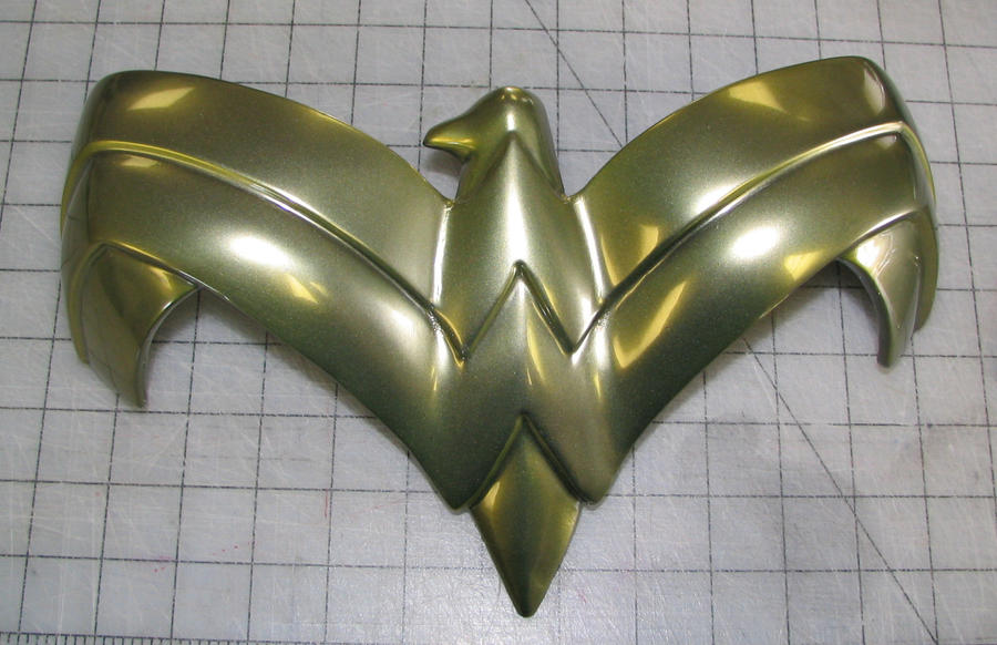 Wonder Woman chest eagle by Vermithrax1