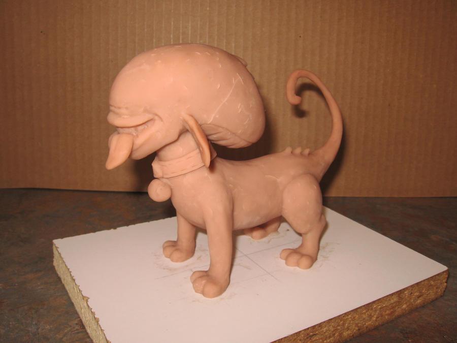 Xenomorph Dog Costume Alien Dog 3 by Vermithrax1