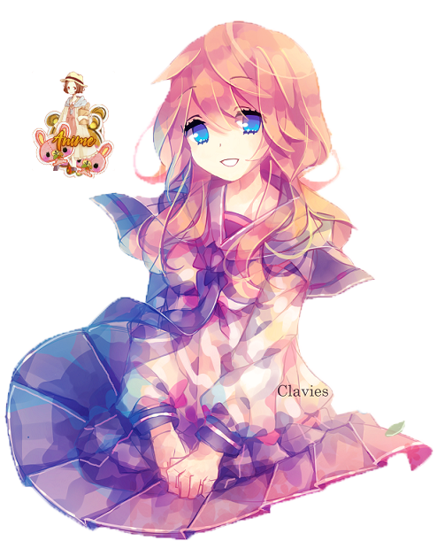 Cute anime girl transparent sorry, that
