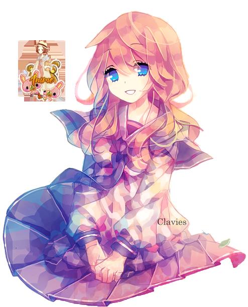 Render 099 2512016 Anime Girl By Kawaii Avokado On Deviantart