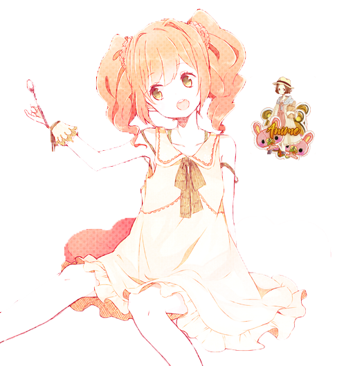 Are Cute anime girl transparent will