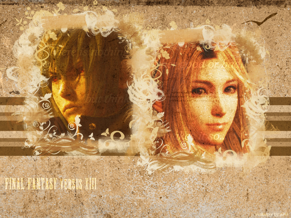 Final Fantasy Versus XIII Wall by a745