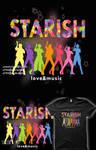 STARISH! Shirt Design 2