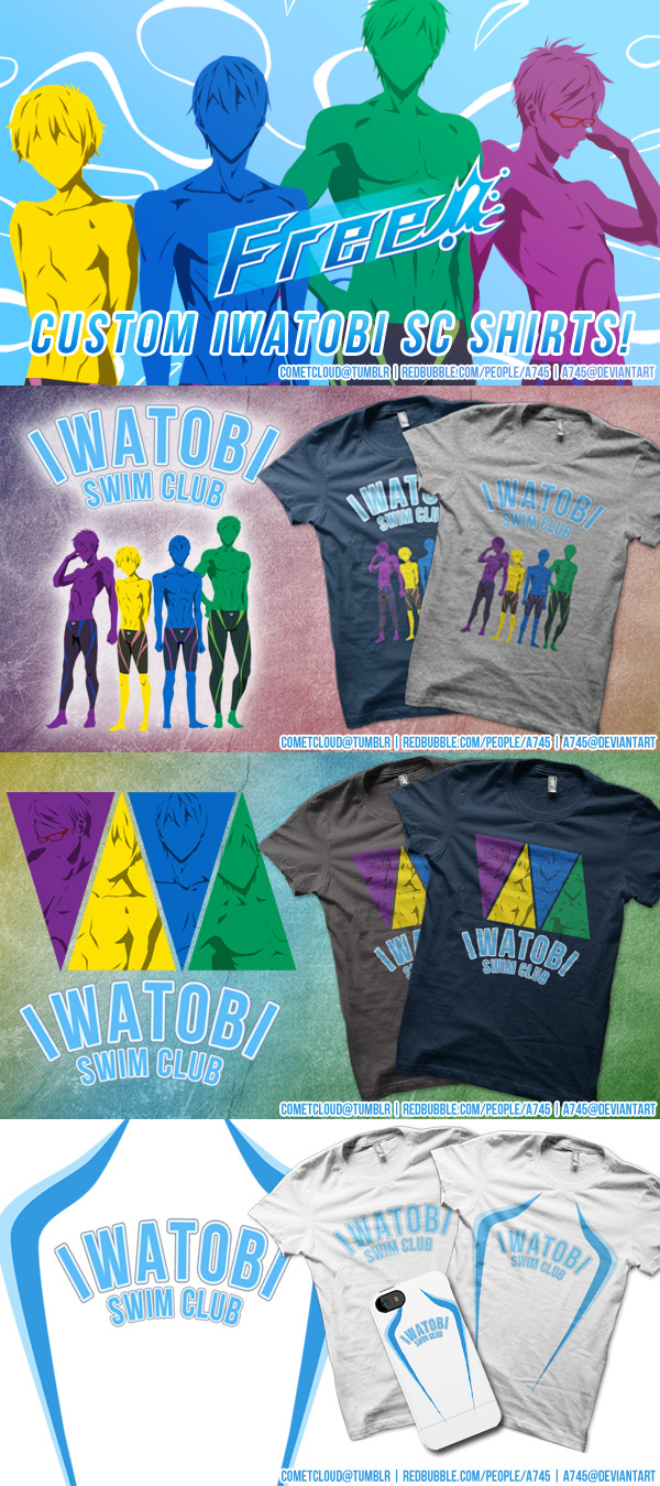 Free! Iwatobi SC Custom Shirts by a745