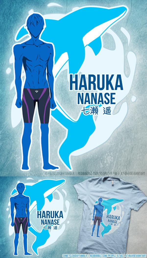 Free! Haruka Shirt Design by a745