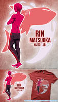 Free! Rin Shirt Design