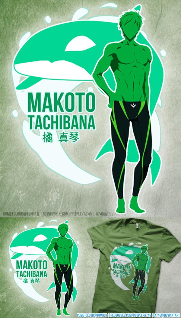 Free! Makoto Shirt Design by a745