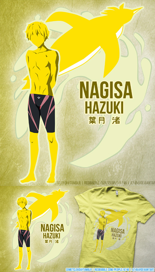 Free! Nagisa Shirt Design by a745